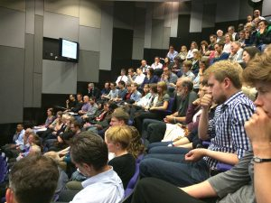 Audience at 23rd Bradford Hill Lecture
