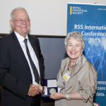 Sheila Bird presented with RSS Howard Medal