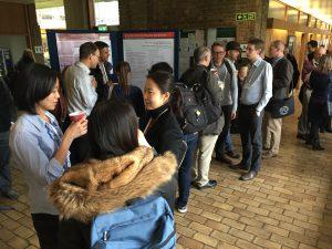 Networking at AstraZenenca & MRC Symposium in 2017